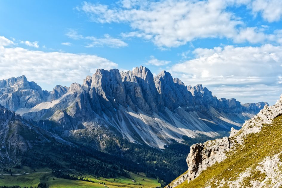 Berglandschaft Seitenlicht